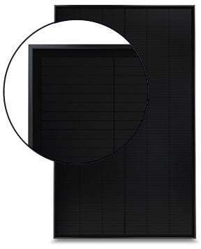 Installation de panneaux photovoltaïques SunPower à très bon rendement